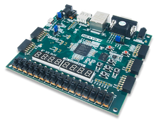 Nexys 4 Artix-7 FPGA Trainer Board product image.