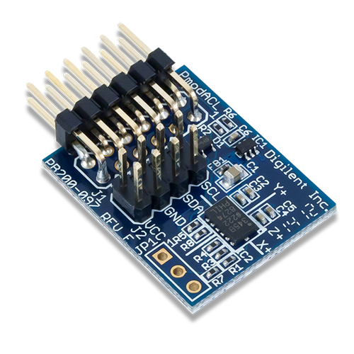 Pmod ACL: 3-axis Accelerometer product image.