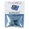 Product image of the front of the Pmod ACL2: 3-axis MEMS Accelerometer custom Digilent packaging.
