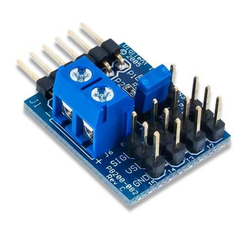 Pmod CON3: R/C Servo Connectors product image.