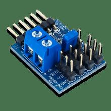 Pmod CON3: R/C Servo Connectors product image.