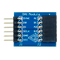 Top view product image of the Pmod DA1: Four 8-bit D/A Outputs.