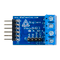 Top view product image of the Pmod HB3: H-bridge Driver with Feedback Inputs.