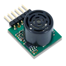 Pmod MAXSONAR: Maxbotix Ultrasonic Range Finder product image.