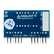 Bottom view product image of the Pmod SSD: Seven-segment Display.
