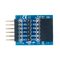 Top view product image of the Pmod TPH: 6-pin Test Point Header.