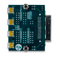 Bottom view product image of the VmodMIB: VHDC Module Interface Board.