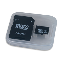 Product image of the MicroSD Card with Adapter container.