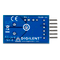Bottom view product image of the Pmod ISNS20: 20A Current Sensor.