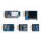 Top view product image of the Arty Pmod Pack. Includes the PmodACL, PmodALS, PmodAMP2, PmodBT2, PmodOLEDrgb.