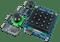 Nexys Video Pmod Pack product image that includes the PmodJSTK2, PmodKYPD, PmodMAXSONAR, PmodTPH2, PmodWiFi.