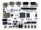 Top view product image of the Arty Z7: APSoC Zynq-7000 Development Board for Makers and Hobbyists.