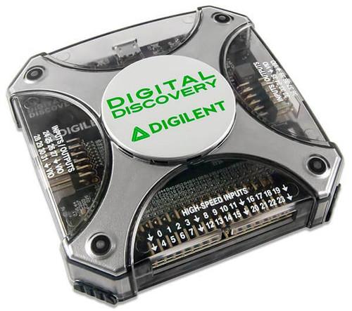 Digital Discovery: Portable Logic Analyzer and Digital Pattern Generator product image.