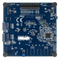 Bottom view product image of the Basys MX3: PIC32MX Trainer Board for Embedded Systems Courses.