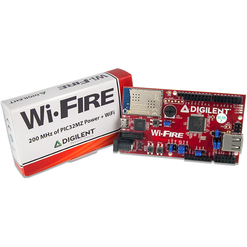 Wi-FIRE, box contents.