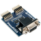 Product image of the Pmod VGA that is included in the Zybo Z7 Academic Pmod Pack.
