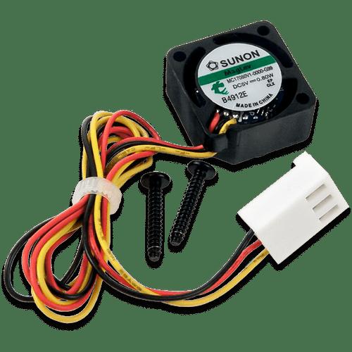 Zybo Z7-20 Fan Kit product image, screws included.