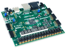 Nexys A7 Trainer Board Recommended for ECE Curriculum product image. Please note: the Nexys A7 is the new name for the Nexys 4 DDR.