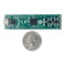 Size comparison product image of the Cmod S6: Breadboardable Spartan-6 FPGA Module and a US quarter (diameter of quarter: 0.955 inches [24.26 mm]; width: 0.069 inches [1.75 mm]).