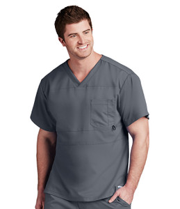 (0116) - Grey's Anatomy Active Scrubs - 2pkt Panel Pieced V-Neck