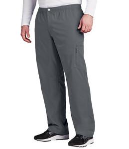 (0215) - Grey's Anatomy Active Scrubs - 7pkt Cargo Zip Fly Button Pant