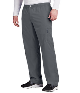 (0215T) - Grey's Anatomy Active Scrubs - 7pkt Cargo Zip Fly Button Pant (Tall)