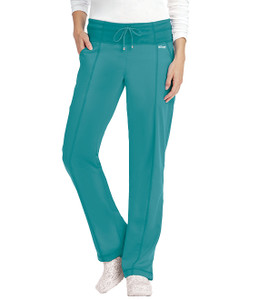 (4276T) - Grey's Anatomy Active Scrubs - 4pkt Low Rise Wide Waist Pant (Tall)