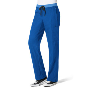 (5814P) WonderWink Four-Stretch Scrubs - Straight Leg Cargo Pant (Petite)