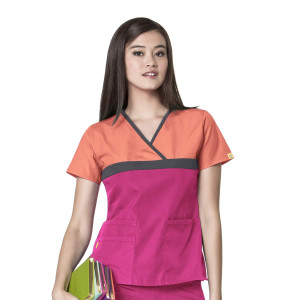 (6026C) WonderWink Origins Scrubs - Tri-Charlie Top