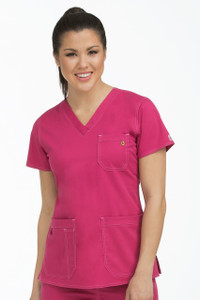(8496) Med Couture Ez-Flex Stretch Scrubs -  Niki Top