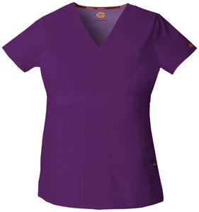 (85820) Dickies EDS Signature Scrubs - 85820 Mock Wrap Top