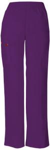 (86106P) Dickies EDS Signature Scrubs - 86106 Natural Rise Tapered Leg Pull-On Pant (Petite)