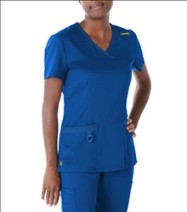 (9045) Urbane Ultimate Scrubs - MELISSA SURPLICE SCRUB TOP
