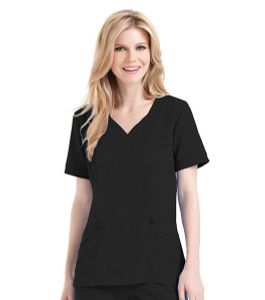 (9550) Urbane Ultimate Scrubs - CHLOE SWEETHEART NECK TUNIC
