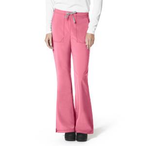 (C52210P) Carhartt CROSS-FLEX Scrubs - Flat Front Flare Pant (Petite)