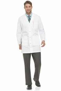 (3124L) Landau Lab Coats - MEN'S LAB COAT (Long)