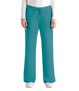 (4245P) - Grey's Anatomy Scrubs - Junior 5 Pocket Drawstring Pant (Petite)