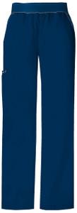 (1031) Cherokee Flexibles Scrubs - Mid-Rise Knit Waist Pull-On Pant