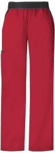 (1031P) Cherokee Flexibles Scrubs - Mid-Rise Knit Waist Pull-On Pant (Petite)