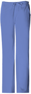 (1066P) Cherokee Luxe Scrubs - Low Rise Straight Leg Drawstring Pant (Petite)