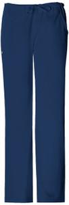 (1066T) Cherokee Luxe Scrubs - Low Rise Straight Leg Drawstring Pant (Tall)