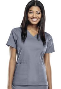 (44801A) Cherokee Workwear Scrubs WW Flex - 44801A Mock Wrap Top