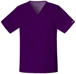 (4725) Cherokee Workwear Scrubs Core Stretch - 4725 Unisex V-Neck Top