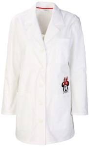"""(TF400-WHTW) Cherokee Tooniforms Scrubs - TF400 32"""" Lab Coat - White (WHTW)"""