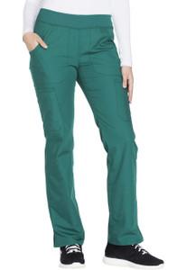 (WW210P) Cherokee Workwear Scrubs Originals - Mid Rise Straight Leg Pull-on Cargo Pant (Petite)