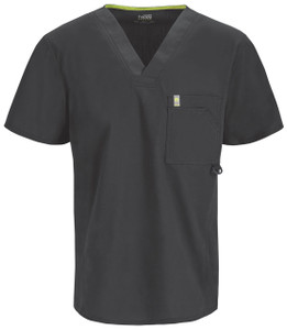 (16600AB) Code Happy Bliss Scrubs - 16600AB Mens V-Neck Top