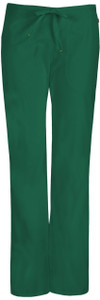 (46002A) Code Happy Bliss Scrubs - 46002A Mid Rise Moderate Flare Drawstring Pant