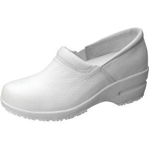 (PATRICIA) Cherokee Footwear - SR Fashion Leather Step In Footwear