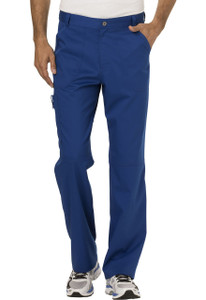 (WW140S) Cherokee Workwear Revolution Scrubs - WW140 Mens Fly Front Pant (Short)