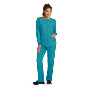 (SK401) Skechers Scrubs - 2pkt Stability Snap Warmup